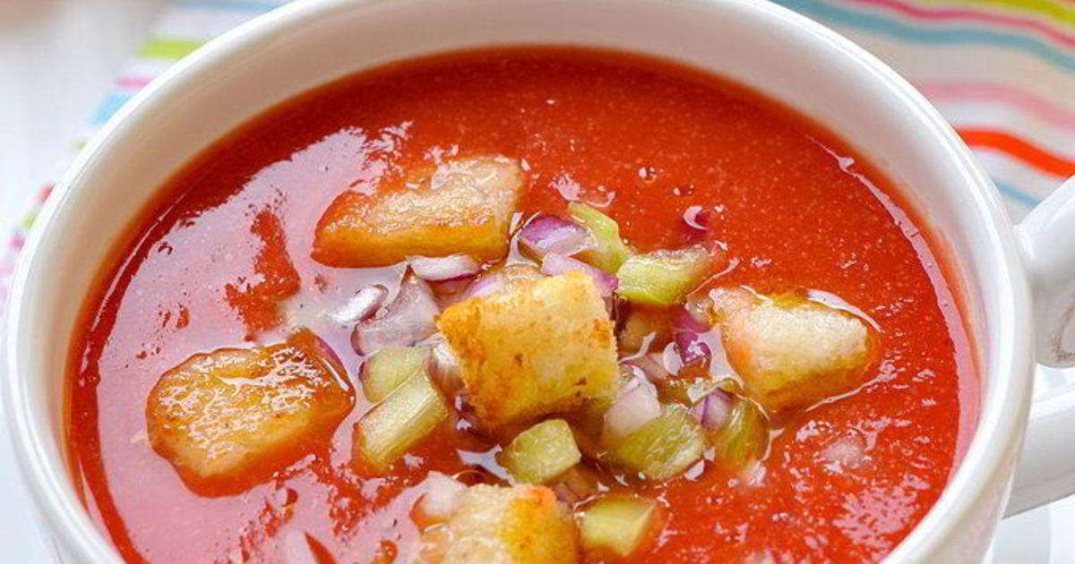 замок холодный суп гаспачо рецепт с фото пошагово написано